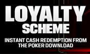 Poker Loyalty Rewards